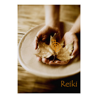 Reiki Power Symbol Poster