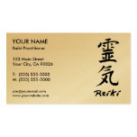 Reiki Practitioner Business Cards