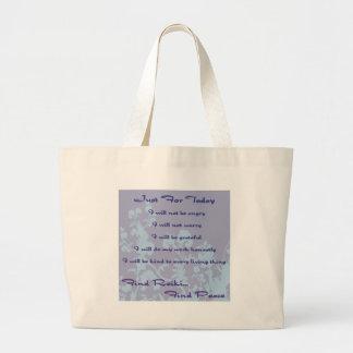 Reiki Principles Canvas Bag