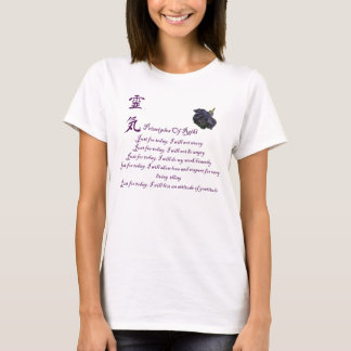 Reiki Principles Just For Today T-Shirt