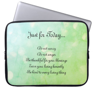 Reiki Principles Laptop Sleeve