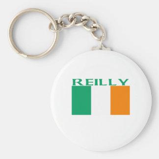 Reilly Basic Round Button Key Ring