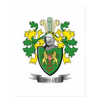 Reilly Coat of Arms Postcard