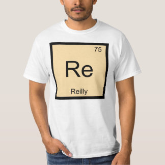 Reilly Name Chemistry Element Periodic Table T-Shirt