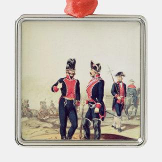 Reinado de Carlos IV, 1795 Silver-Colored Square Decoration