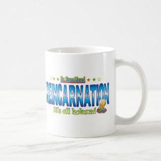 Reincarnation Dr. B Head Basic White Mug
