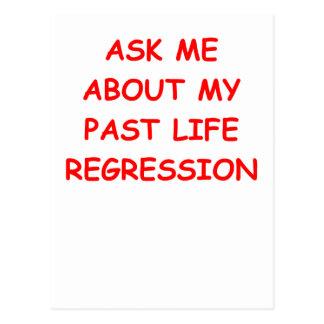 reincarnation postcard