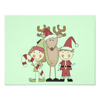Reindeer and Elves T-shirts and Gifts Card