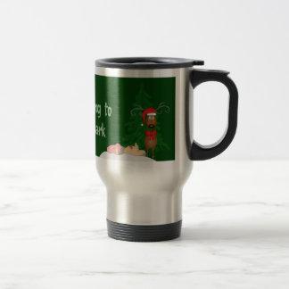 Reindeer and Grandma Travel Mug
