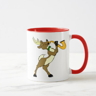 Reindeer And Saxophone Mug