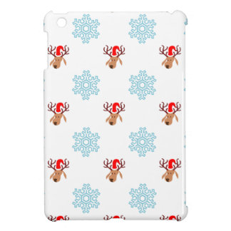 Reindeer and Snowflakes iPad Mini Covers