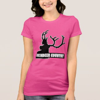 Reindeer Animal Country Designer#1 Shirt Clothing