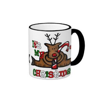 Reindeer Baby's 1st Christmas Mug