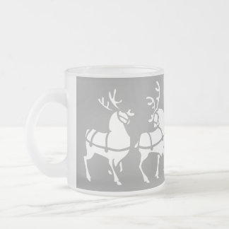 Reindeer Beer Glass Festive Mug Christmas Gifts
