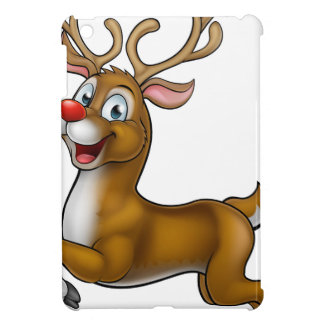 Reindeer Christmas Cartoon Character Case For The iPad Mini