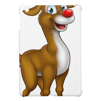 Reindeer Christmas Cartoon Character iPad Mini Covers
