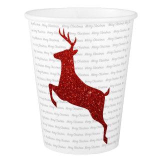 Reindeer Christmas cup