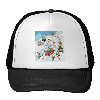 Reindeer Christmas Fun Cap