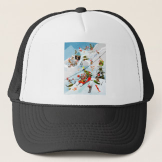 Reindeer Christmas Fun Trucker Hat