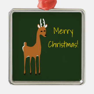 Reindeer Christmas Personalized Ornament