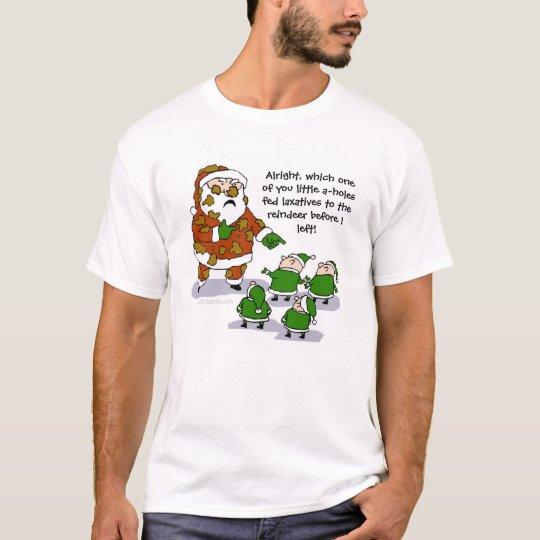 Reindeer Crap Funny T-shirt