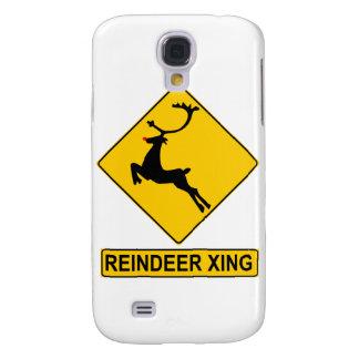 Reindeer Crossing Galaxy S4 Cover