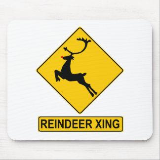 Reindeer Crossing Mousepad