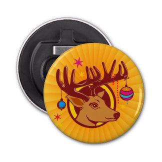 Reindeer / Deer / Christmas + your idea Bottle Opener