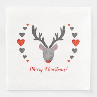 Reindeer! Dinner Paper Napkins