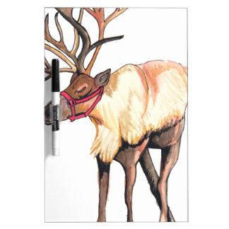 Reindeer Dry Erase Board