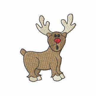 Reindeer Embroidered Shirt
