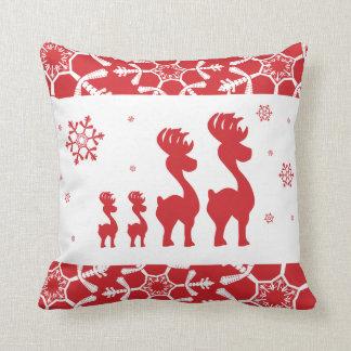 Reindeer Family Cushion