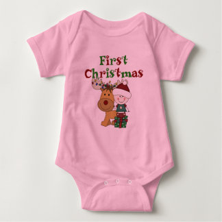 Reindeer First Christmas T-shirts and Gifts