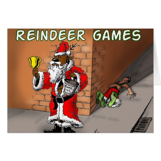 Reindeer games 4 card