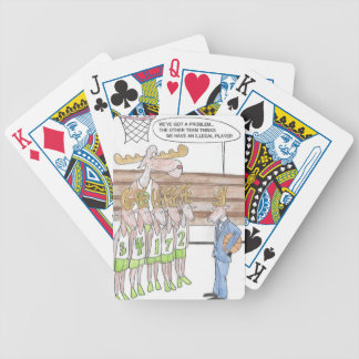 Reindeer Games Bicycle Playing Cards