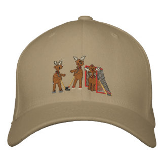Reindeer Games Embroidered Baseball Caps