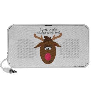Reindeer Games Mini Speaker