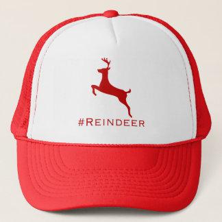 #Reindeer hashtag hat