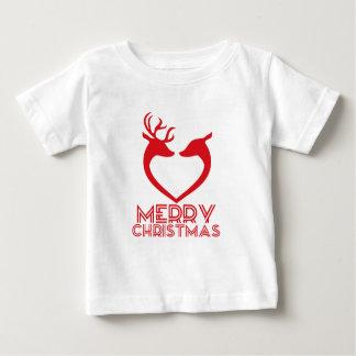 Reindeer Heart Baby T-Shirt