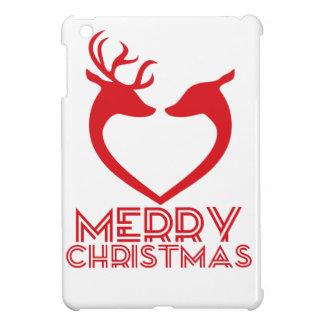 Reindeer Heart iPad Mini Case
