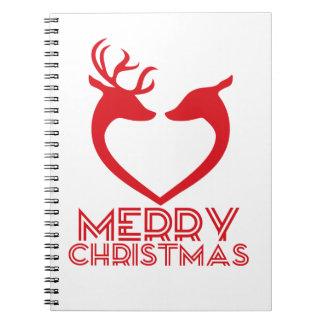 Reindeer Heart Notebooks