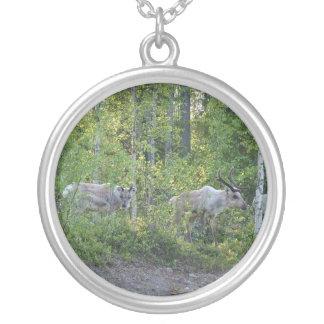 Reindeer in Lapland necklace