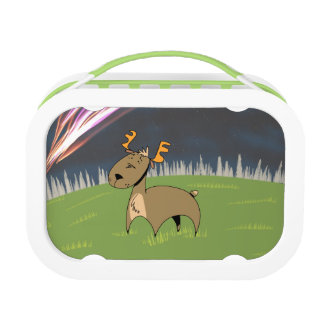 Reindeer in the Tundra Lunch Box