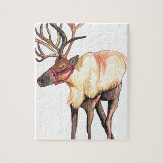 Reindeer Jigsaw Puzzle