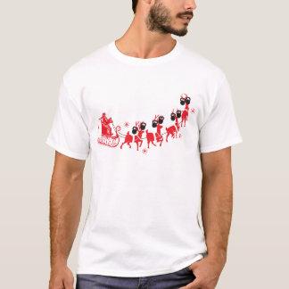 Reindeer Kettlebell Workout T-Shirt