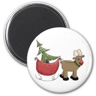 Reindeer Magnet
