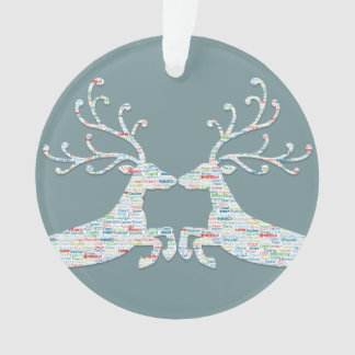 Reindeer Names Cut Outs