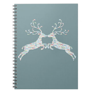 Reindeer Names Cut Outs Notebooks