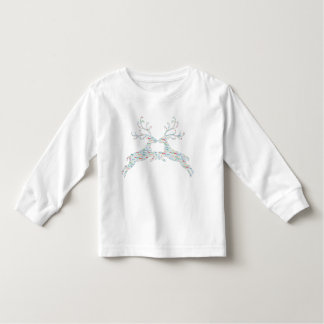 Reindeer Names Cut Outs Toddler T-Shirt