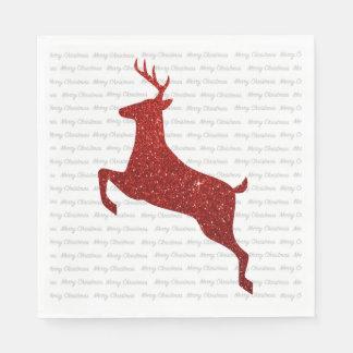 Reindeer Napkins Disposable Napkins